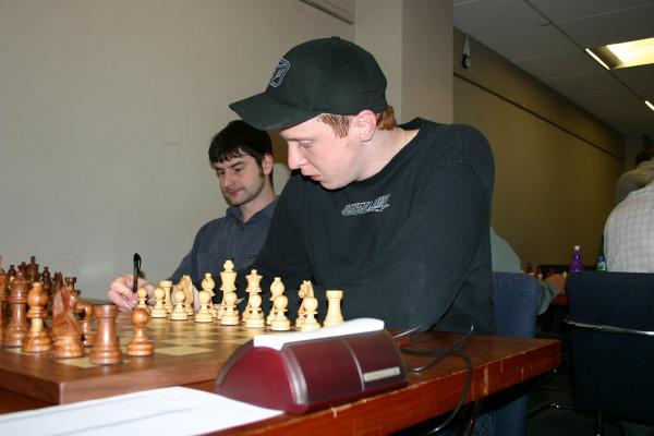 Simon Ansell and Adam Hunt