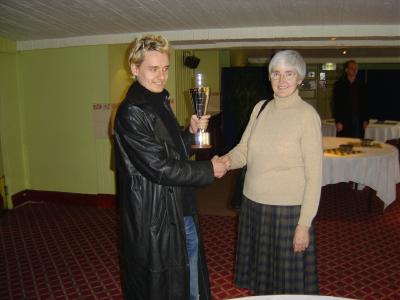 Judy Furness, Jack Rudd and the Richard Furness trophy