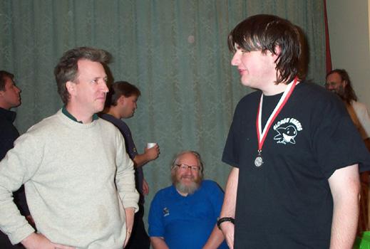 Gawain Jones + ECC medal