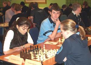 Oxana Kosteniuk and Jessie Gilbert