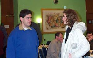 Paul Roberts and Jovanka Houska