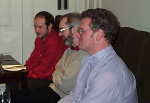Neil Berry, John Shaw, Colin McNab