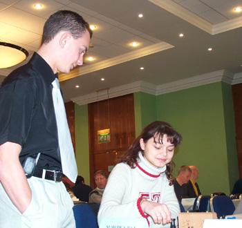 Alexander Yasterbov and Oxana Kosteniuk